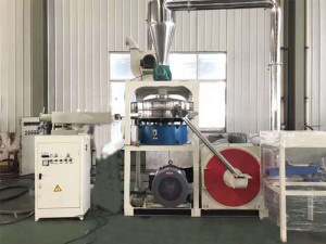Large plastic mill